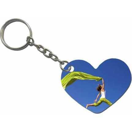 Kalp Anahtarlık Baskı