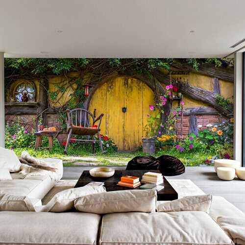 Duvar Kağıdı Baskı ( 150 x 300cm )